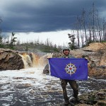 Adam Shoalts Waterfall National Geographic
