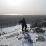 Adam Shoalts Mountain Snow