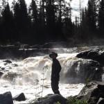 Adam Shoalts Waterfall