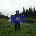 Adam Shoalts Royal Canadian Geographical Flag
