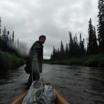 Adam Shoalts Canoe
