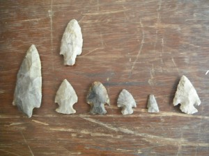 Projectile Points.