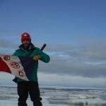 Adam Shoalts Explorer's Club Flag