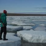 Adam Shoalts Arctic Iceburg