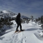 Adam Shoalts Snowshoeing