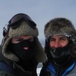 Adam Shoalts Travis Hill Mountain Selfie