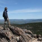 Adam Shoalts Mountain Top