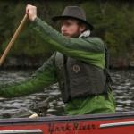 Adam Shoalts Canoe Side